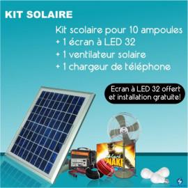 KIT solaire pour 5 ampoules...